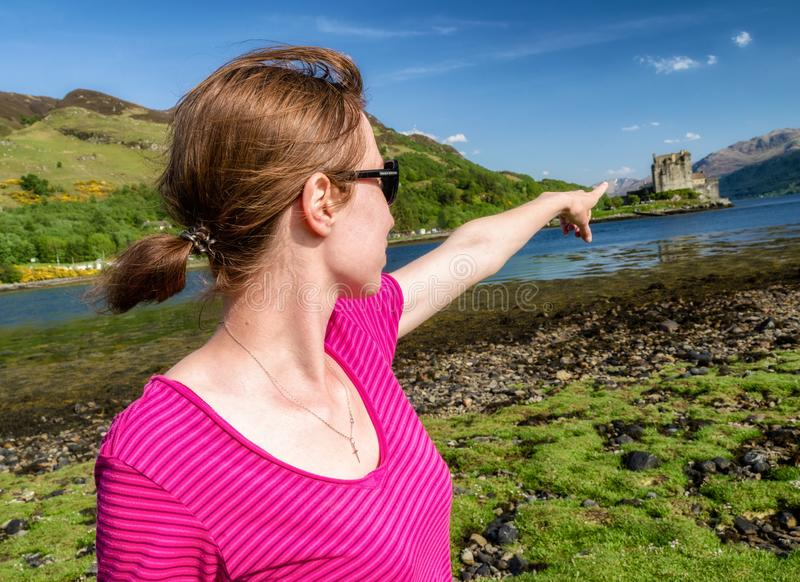 Eilean Donan Schloss, Schottland lizenzfreie stockfotografie