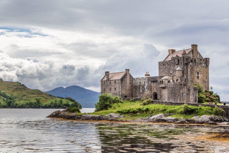 Eileen Donan Castle Skottland royaltyfria foton