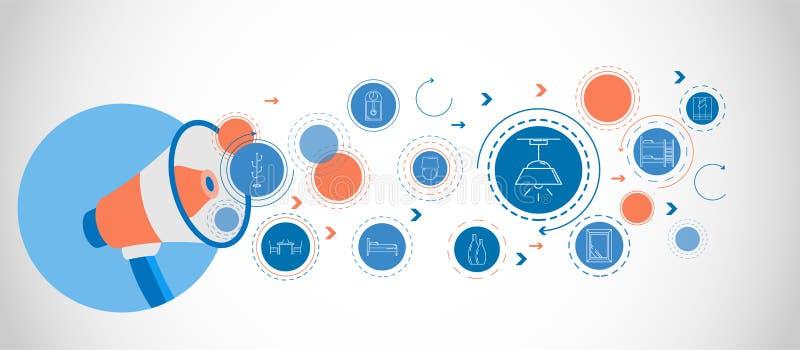 eiling ljussymbol för ljuskrona Från hushålluppsättning stock illustrationer
