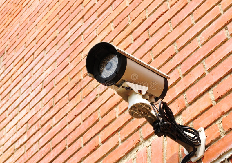 Ein Überwachungsgerät stockfoto