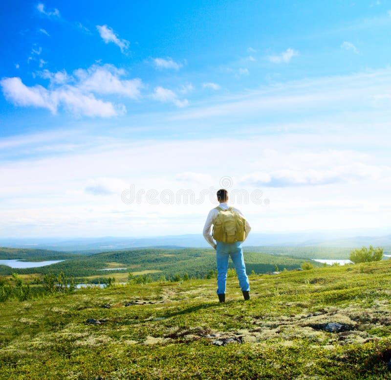 Download Ein stockfoto. Bild von arktisch, berg, gras, murmansk - 9086818