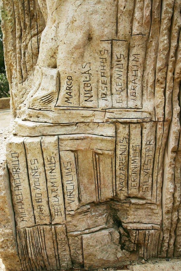 Download Ein Alter Monolith An Der Montierung Nebo, Jordanien Stockfoto - Bild von montierung, jordanien: 26365056