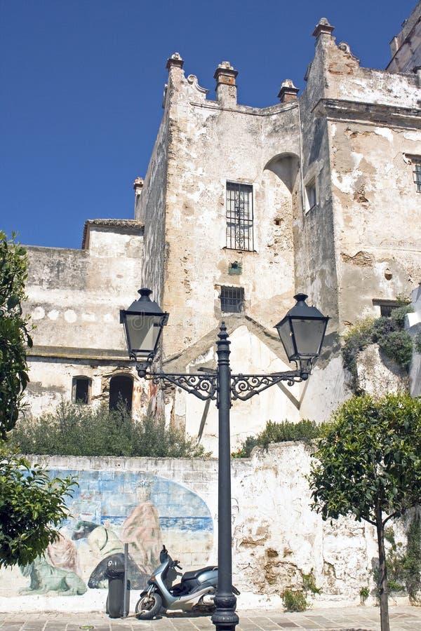 Ein alter Stadt Rampart stockbilder