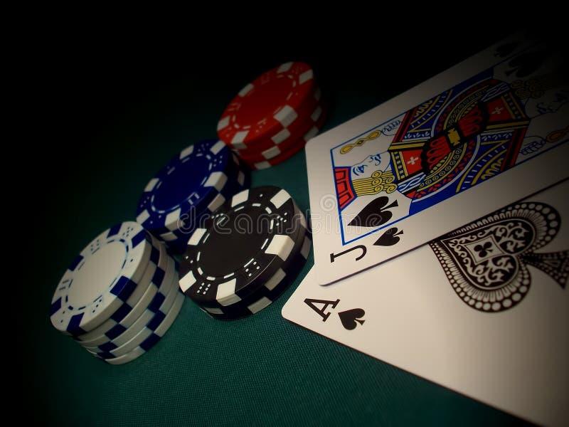 Ein anderer Blackjack lizenzfreie stockfotos