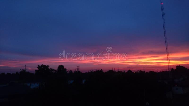 Ein anderer Sonnenuntergang stockfoto