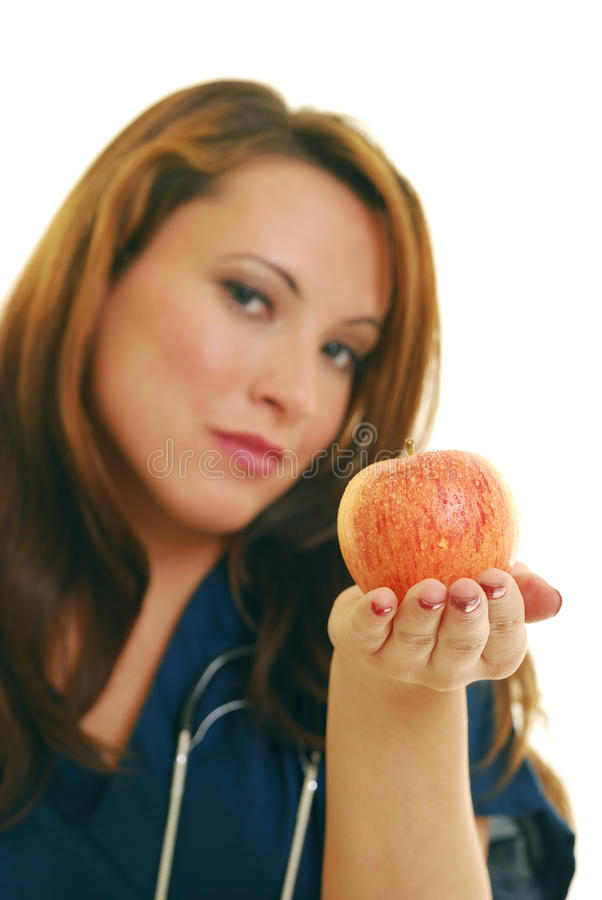 Ein Apfel für Sie stockfotos