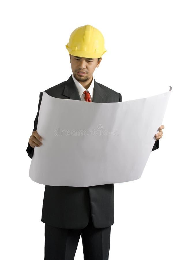 Ein Architekt stockfoto