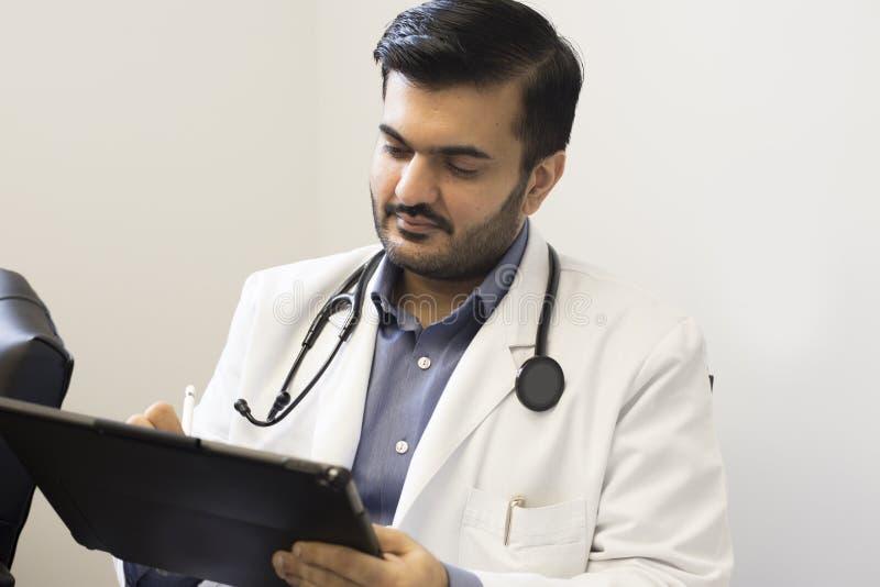 Ein Arzt stockfotografie
