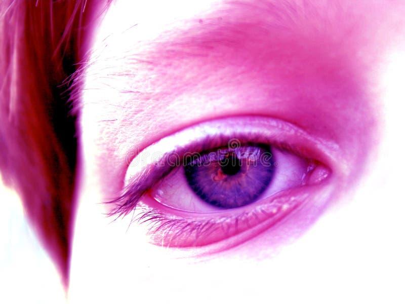 Ein Auge Stockbilder
