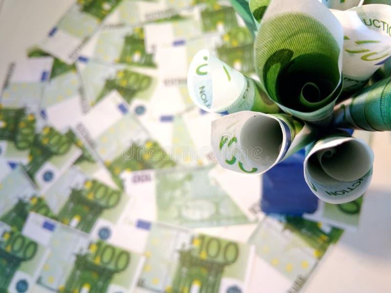 Ein B?ndel Geld lizenzfreies stockfoto