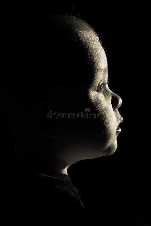 Ein Baby lizenzfreies stockbild