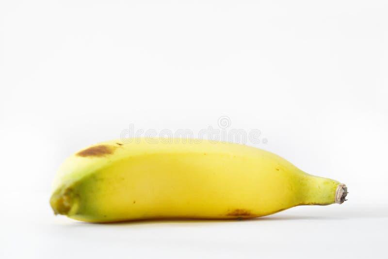 Ein ` Banane ` Kluay Khai auf weißem Hintergrund stockfoto