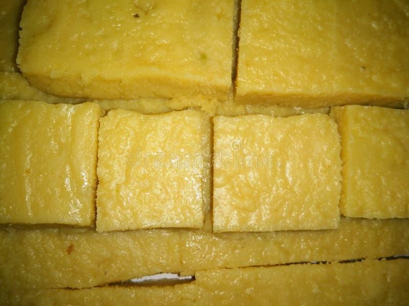 Ein Bild von köstlichen indischen milchigen Bonbons lizenzfreie stockfotografie