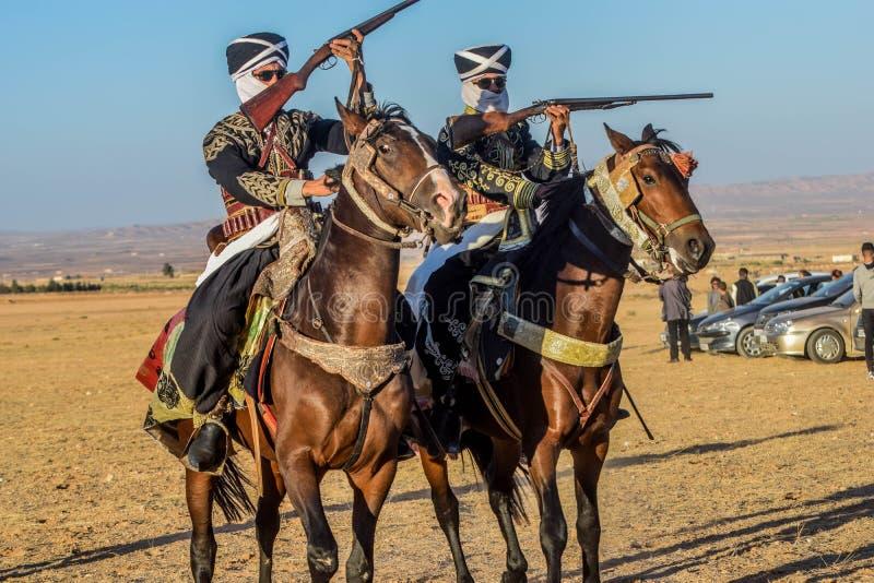 Ein Bild von Reitershows lizenzfreie stockfotos