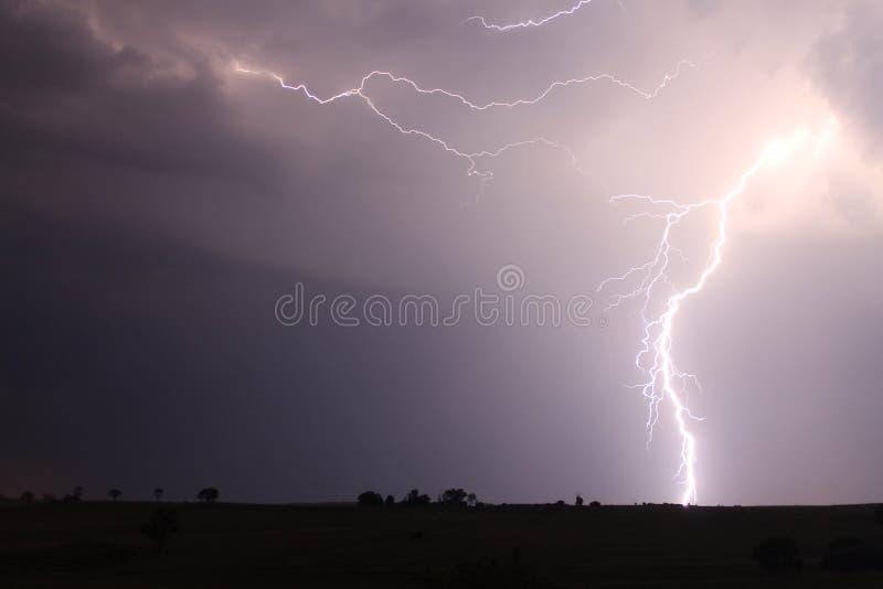 Ein Blinken des Blitzes lizenzfreies stockbild