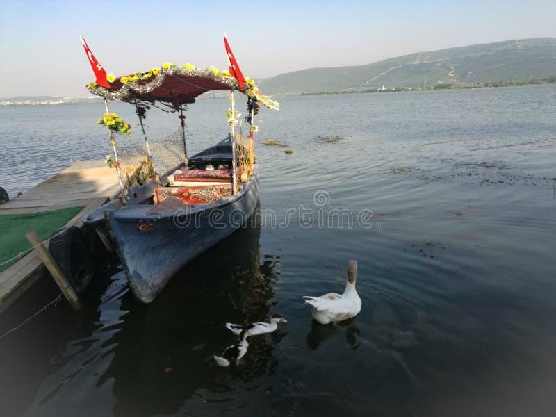 Ein Boot stockfotos