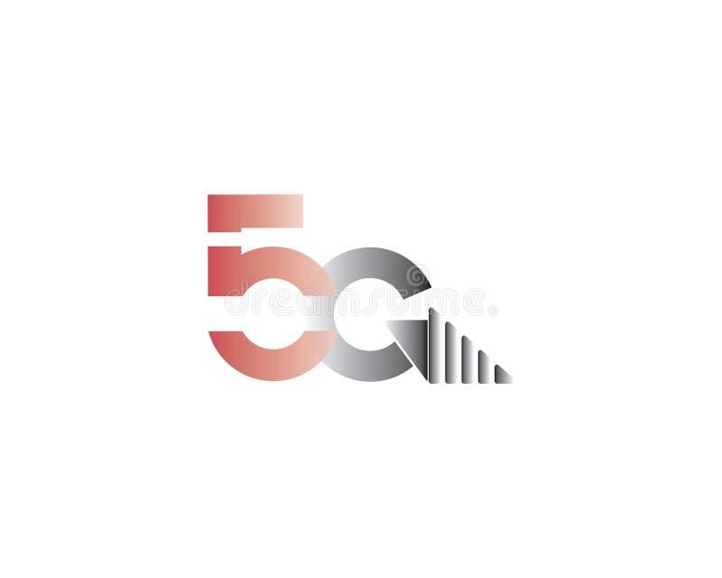 Ein Buchstabe 5G lte für Verbindung stockfotografie