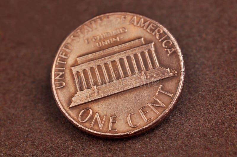Ein Cent lizenzfreies stockfoto
