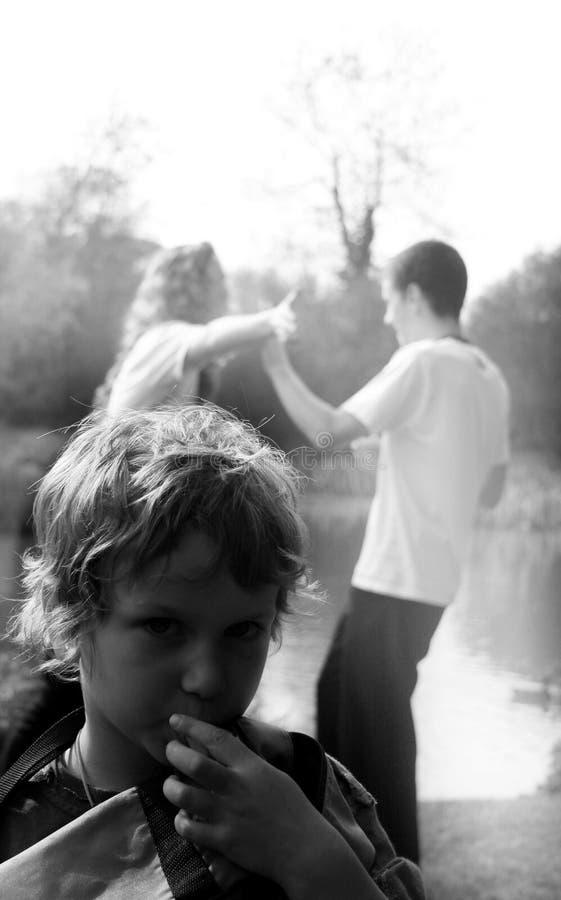Ein Childs Veiw stockbilder