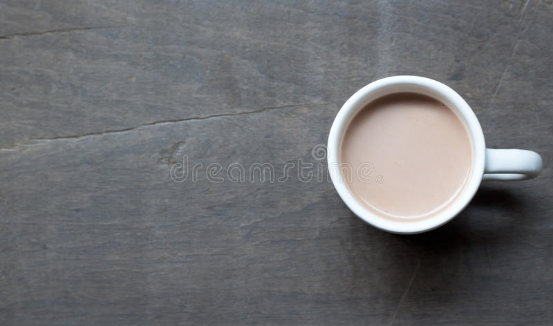 Ein Cup heißer Kakao stockfoto