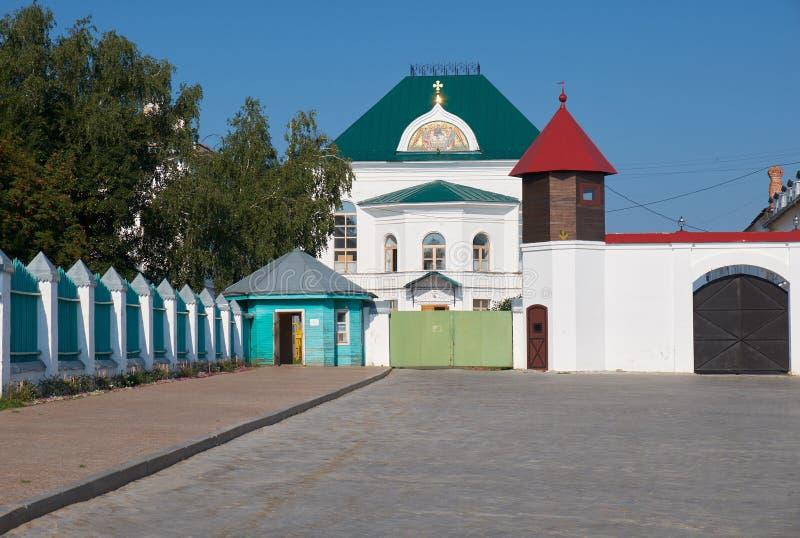 Ein des Gebäudes von Tobolsk der Kreml Tobolsk Russland stockfotos