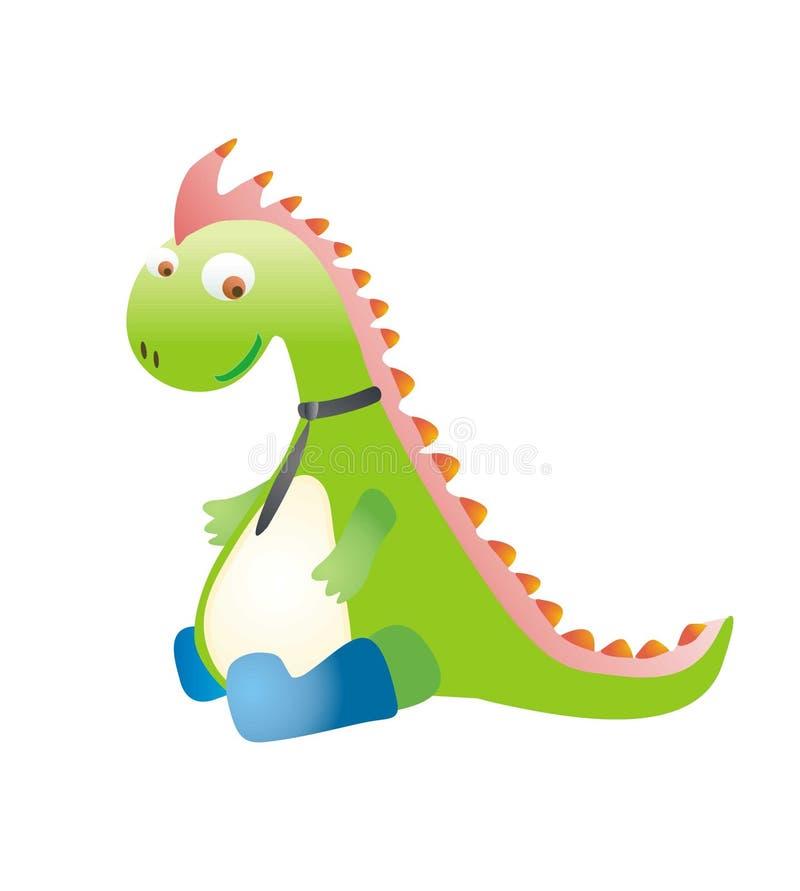 Ein Dinosaurier stockfotos