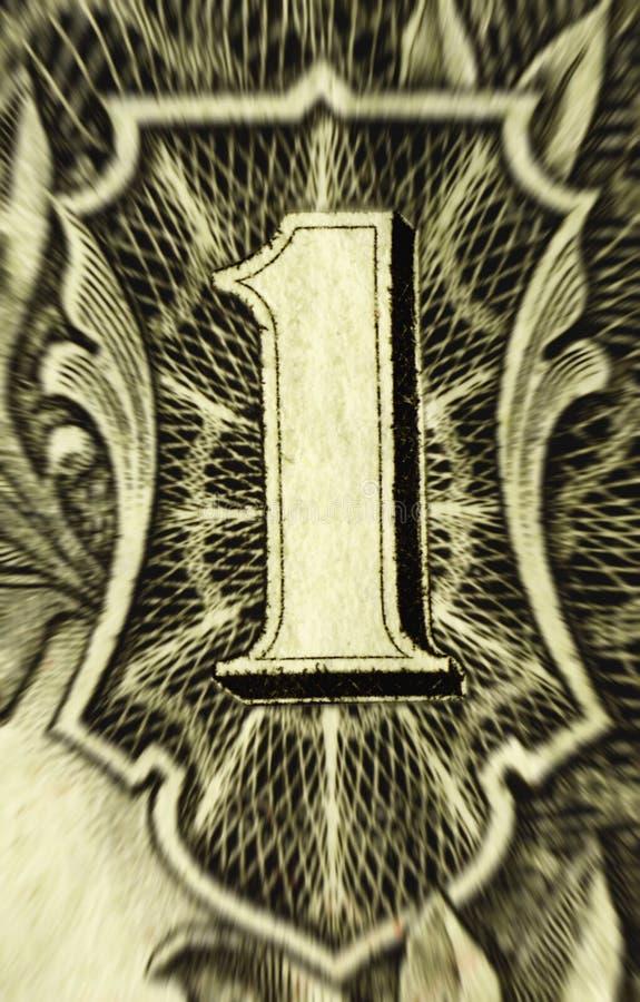 Download Ein Dollar stockbild. Bild von kauf, rechnung, grün, bargeld - 855193