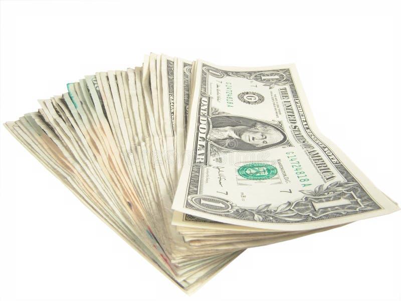 Ein Dollarscheine Stockbilder