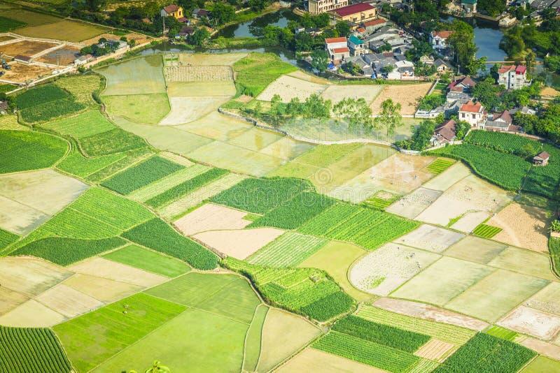 Ein Dorf in Nord-Vietnam lizenzfreies stockbild