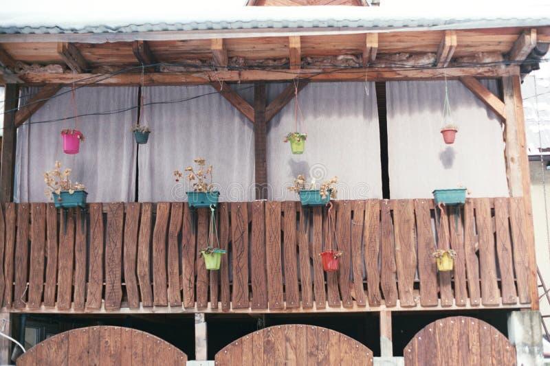 Ein Dorfhaus stockfotos