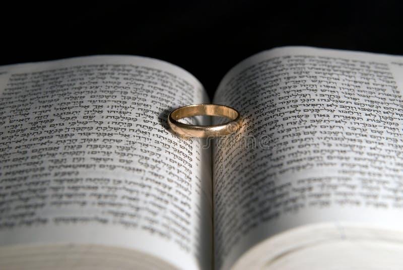 Ein Ehering stockbilder