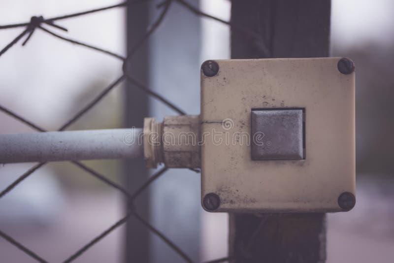 Ein elektrischer Schalter lizenzfreie stockfotografie