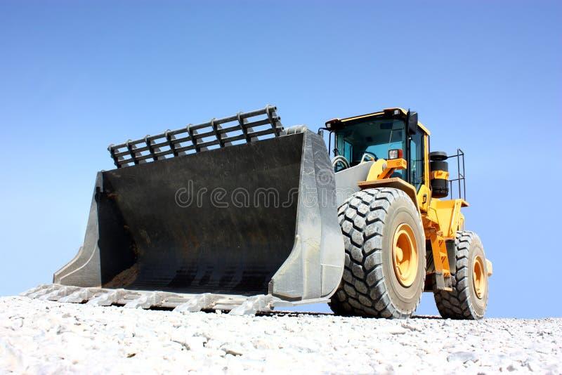 Ein Exkavator stockfotos