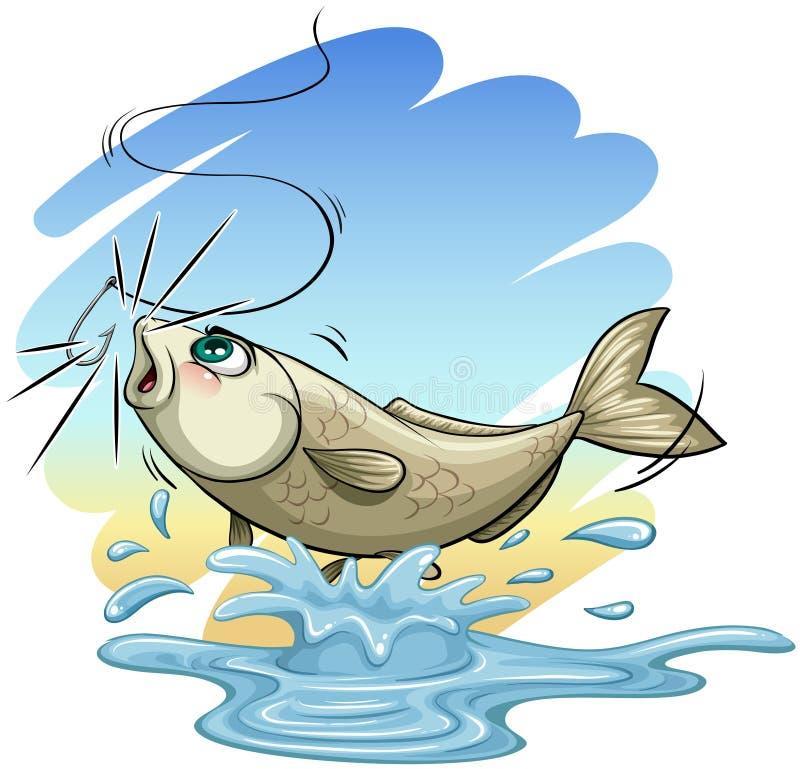 Ein Fisch lizenzfreie abbildung