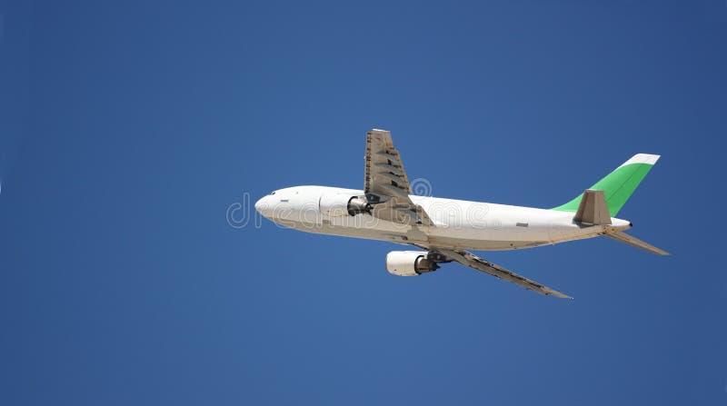 Ein Flugzeug stockbild