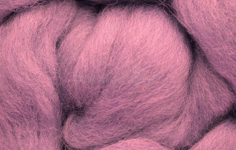 Ein Foto einer Nahaufnahme der Wolle lizenzfreie stockfotos