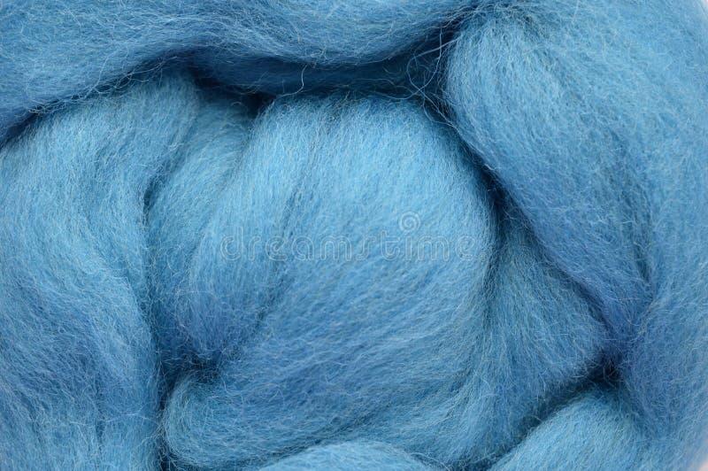 Ein Foto einer Nahaufnahme der Wolle stockfotografie