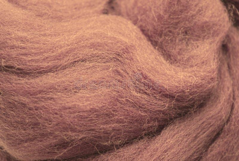 Ein Foto einer Nahaufnahme der Wolle stockbilder