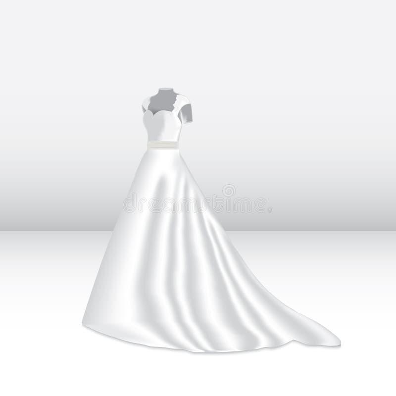 Ein Fragment der Hochzeitsordnung lizenzfreie abbildung