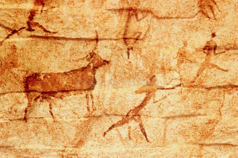 Ein Fragment von stilisierte dekorative Mattfliesen stockfotografie