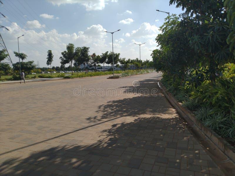Ein Fußweg lizenzfreies stockfoto