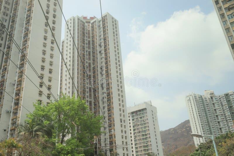 ein Gasthaus an Hong- Kongnt stockfoto