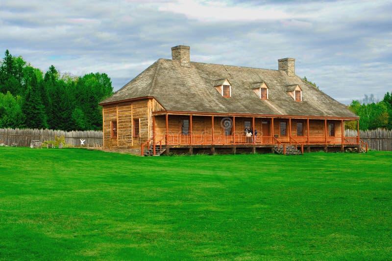 Ein gebürtiges amercian Haus stockbild
