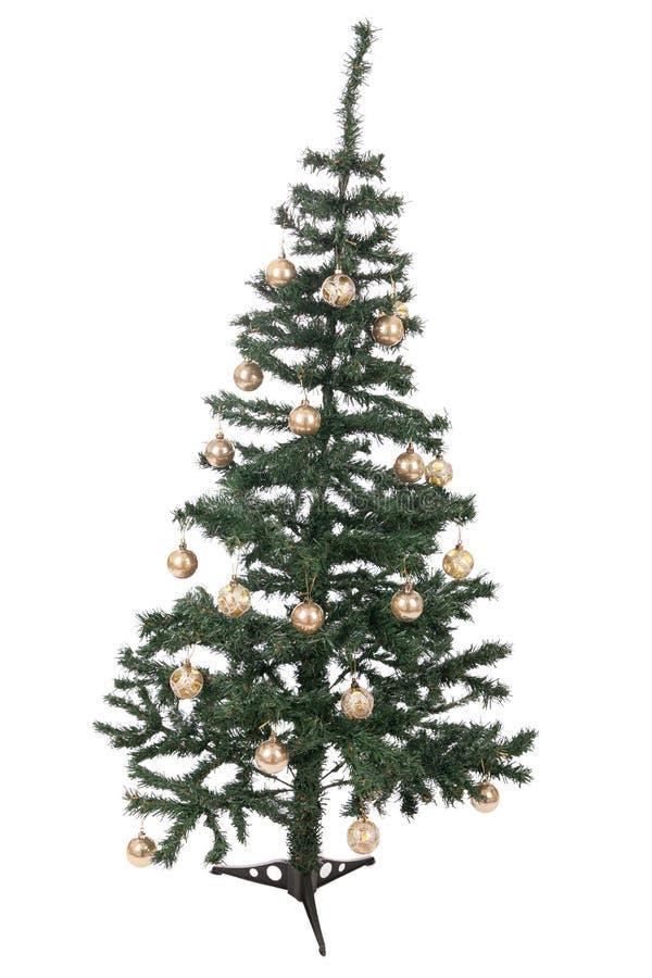 Download Ein Getrennter Weihnachtsbaum Stock Abbildung - Illustration von fahne, weihnachten: 27731865