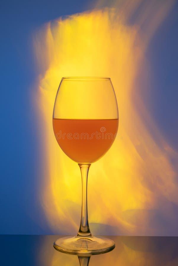 Ein Glas Sherry lizenzfreie stockfotos