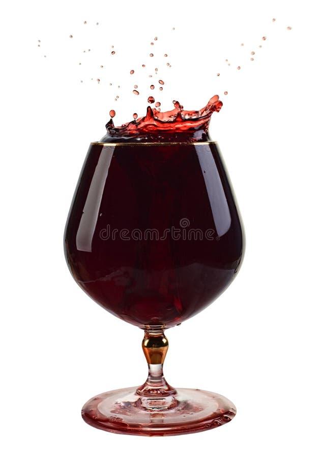 Ein Glas Wein stockfotos