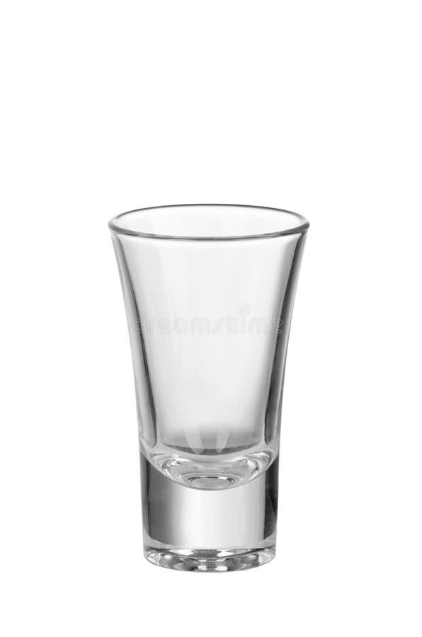 Ein Glas Wodka stockbild