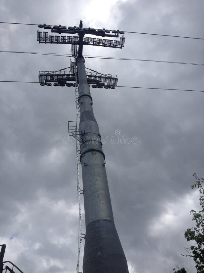 Ein großer Turm stockbilder