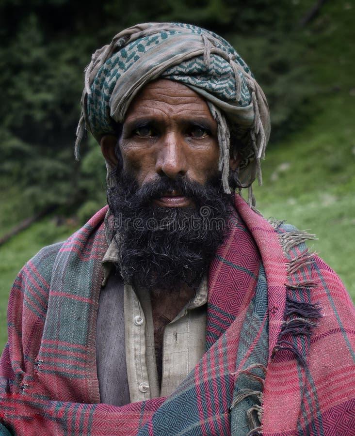 Ein gujjar Nomade lizenzfreie stockfotos