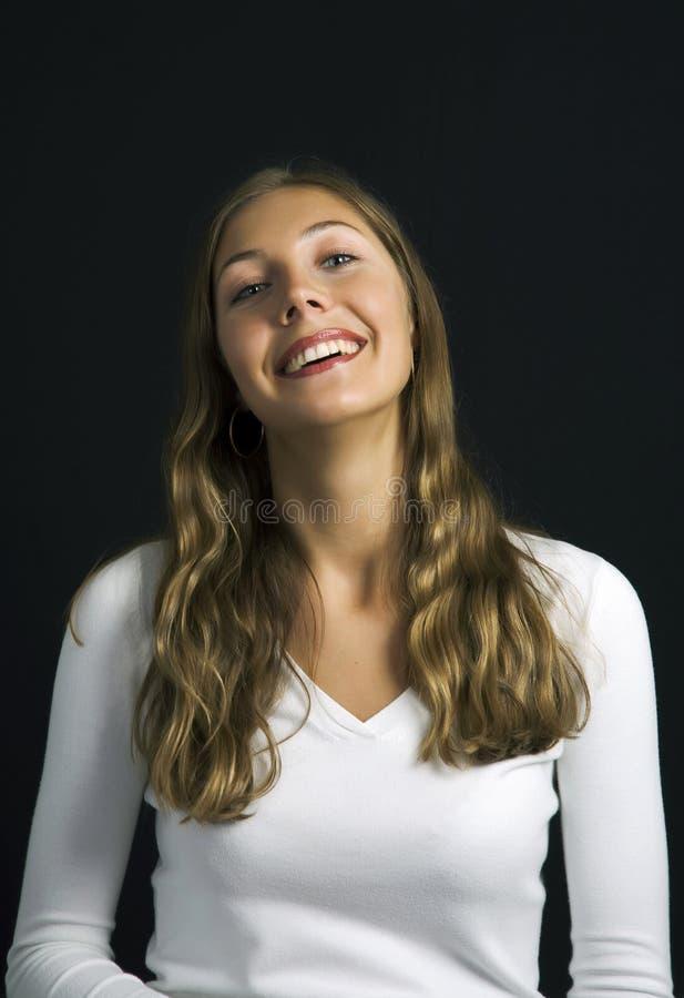 Ein hübsches Mädchen lizenzfreies stockfoto